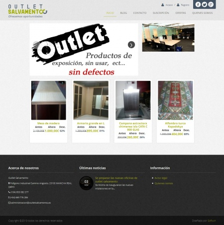 Outlet Salvamento